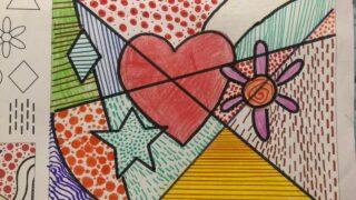 Grafiti corazón