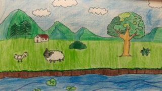 Animales en la pradera
