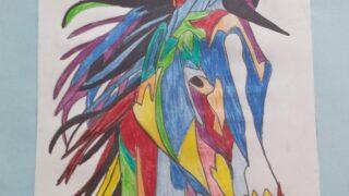 Cabalgata de colores